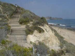 Beach Access At Crystal Cove